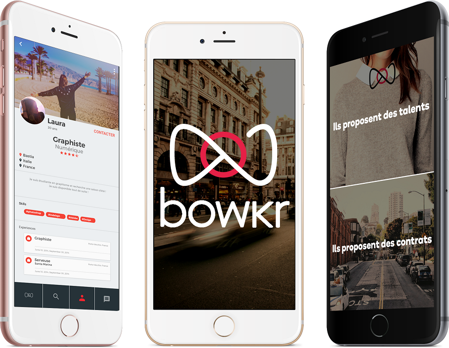 Présentation de Bowkr, l'application de Talent Booking