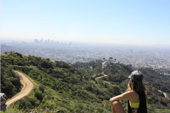 Vue panoramique sur Los Angeles
