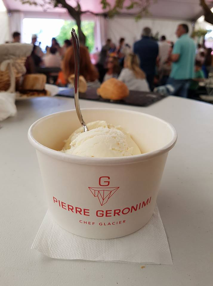 Glace au Brocciu & whisky PM du domaine Mavela de Pierre Geronimi